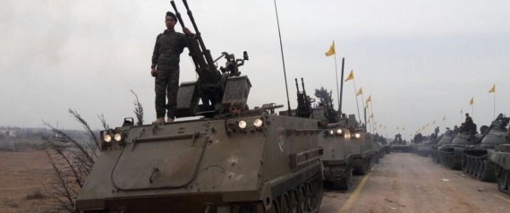HEZBOLLAH TURNS INTO A COACH ARMY