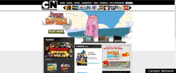 CARTOON NETWORK PRINT SCREEN