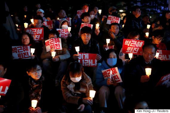 seoul korea 2016 rally