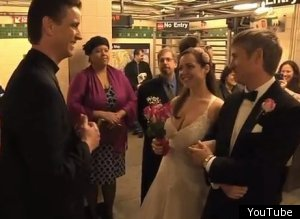 Subway Wedding