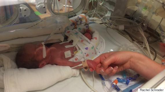 premature baby aiden