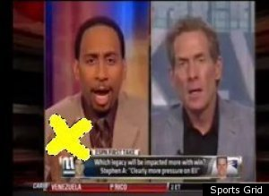 Stephen A Smith Finger