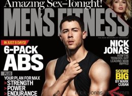 Les abdos sexy de Nick Jonas en couverture de Men's Fitness