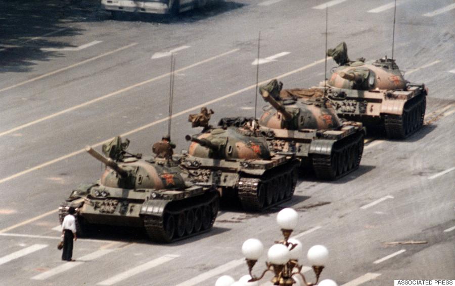 tiananmen 1989 tanks man