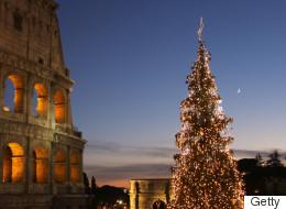 25 des plus beaux sapins de Noël à travers le monde