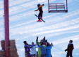 Boy Falls From Ski Lift, Lands Into Skiers' Arms At Wisconsin Ski Area (VIDEO)