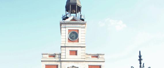 El reloj de la puerta del sol cumple 150 a os y se abre for Puerta del sol hoy