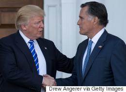 «Profonde conversation» entre Mitt Romney et Donal Trump