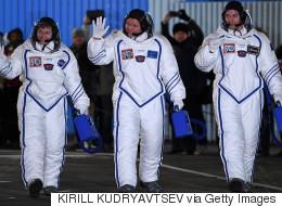 Les trois astronautes sont arrivés à bord de l'ISS