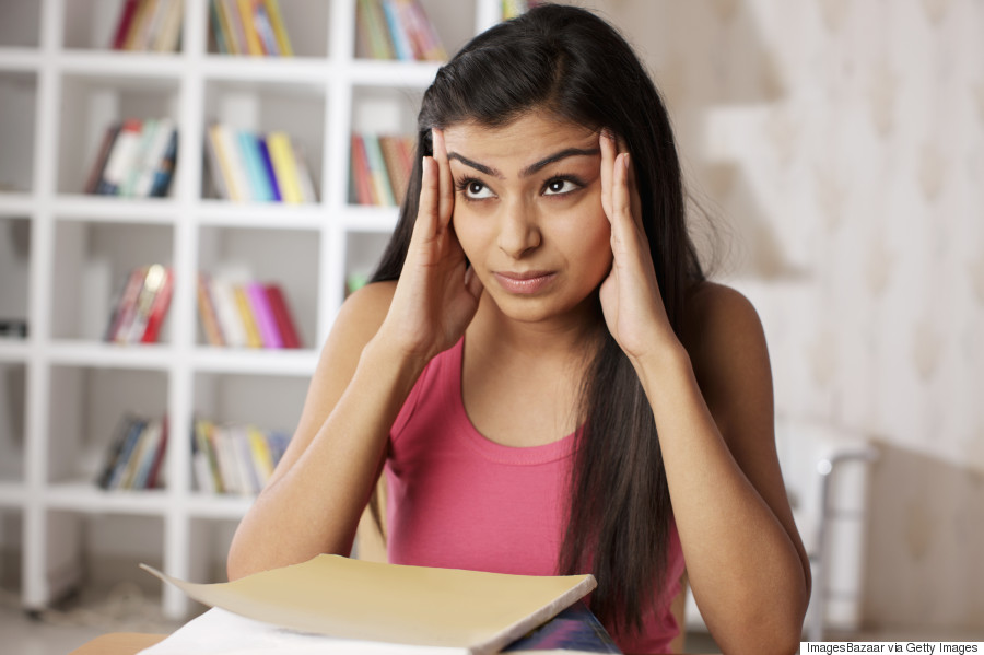 indian woman migraine