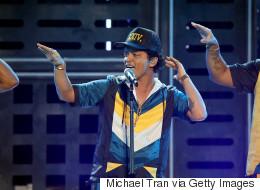 Bruno Mars deux fois plutôt qu'une à Montréal