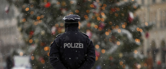 CHRISTMAS GERMANY POLICE