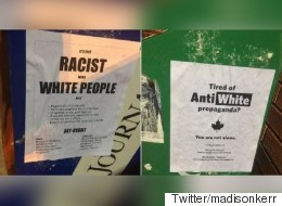 Racist Alt-Right Posters Shock Edmontonians