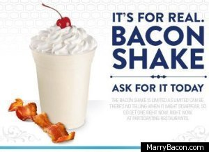 Will YOU Try a Bacon Milkshake?
