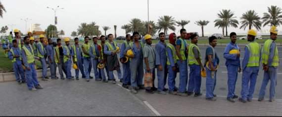 ASIAN LABOR IN QATAR