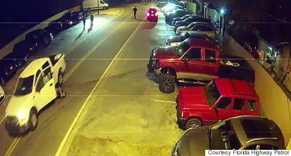 truck runs over driver
