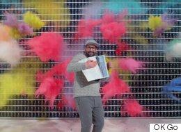 폭발적인 'OK Go'의 신곡 뮤직비디오가 나왔다(영상)