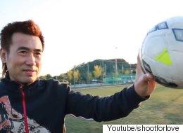 김병지가 초등학생 50명과 축구 대결에 나섰다(동영상)