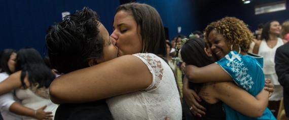 LESBIANS BRAZIL MARRIED