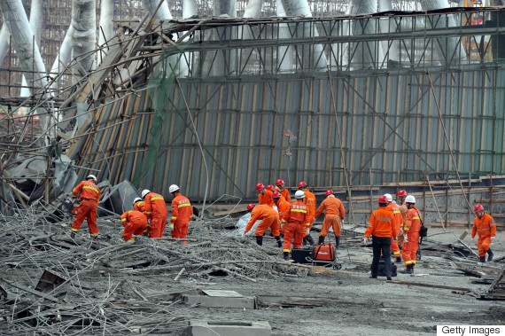 china scaffolding collapse