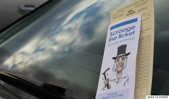 scrooge the ticket