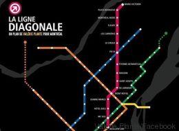 Une nouvelle proposition de ligne de métro à Montréal