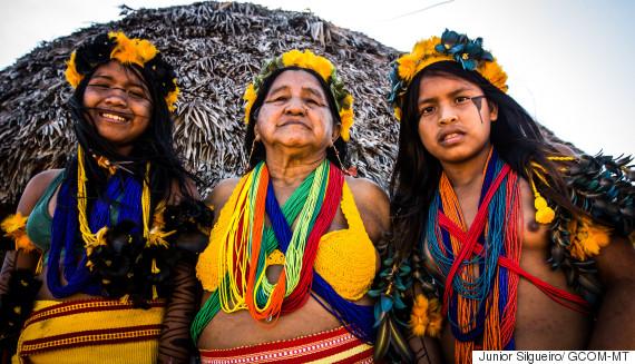 mulheres indígenas mt