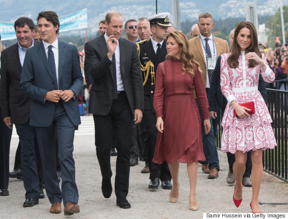 trudeau prince william