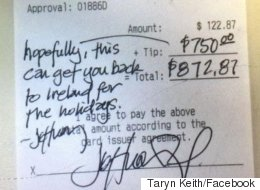 Diner Tips Waiter Over $1,000 To Visit Family In Northern Ireland