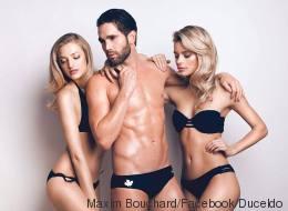 Maxim Bouchard : de plongeur olympique à mannequin ultra sexy