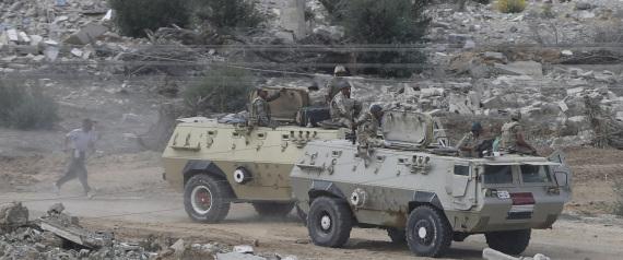 EGYPT ARMY SINAI