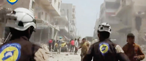 SYRIA THE WHITE HELMETS