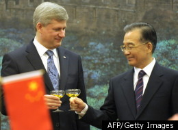 Stephen Harper China Trip