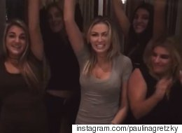 Paulina Gretzky Parties In The U.S.A For Thanksgiving