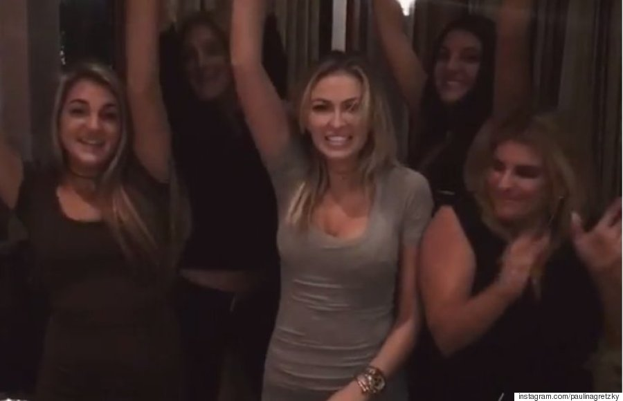 paulina gretzky thanksgiving