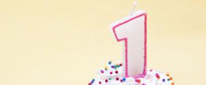 Birthday One Year