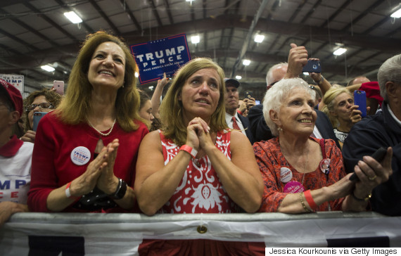 trump rally cry