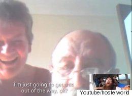 이 남성은 스카이다이빙 중 부모님과 영상통화를 했다(동영상)