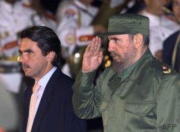 Las fotos de Fidel Castro con los dirigentes españoles