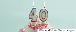 40 BIRTHDAY CANDLES