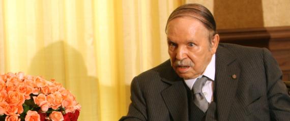 ALGERIAN PRESIDENT