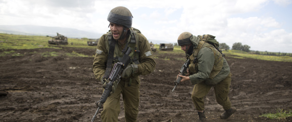 ISRAELI FORCES IN THE GOLAN HEIGHTS