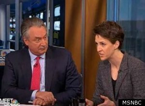 Rachel Maddow Against the Republican Party?