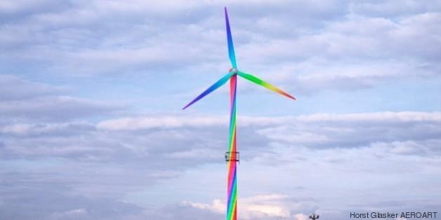 horst gläskers aeroart wind turbines