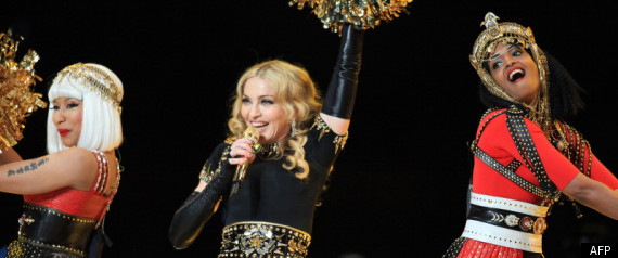 Superbowl Giants Madonna