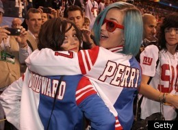 Katy Perry Is Team Perry In Customised Super Bowl Jacket