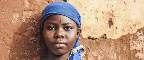 GIRL AFRICA SERIOUS