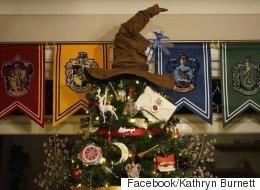 Ce sapin de Noël «Harry Potter» vous plongera dans la magie des Fêtes