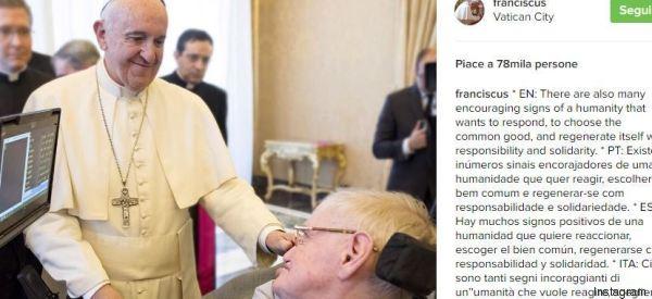 L'umanità ha molto da imparare dall'incontro tra Papa Francesco e Stephen Hawking