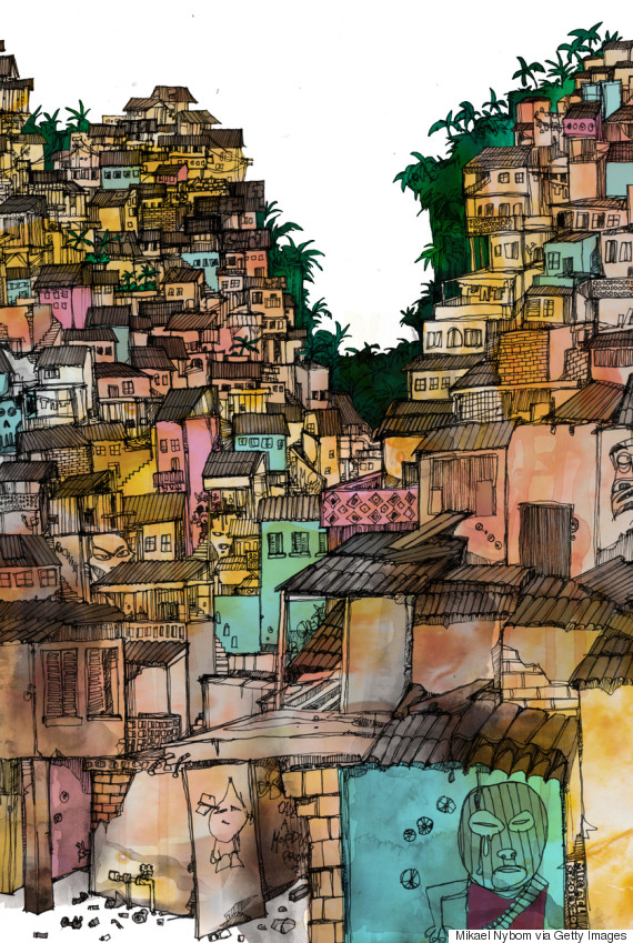favela illustration